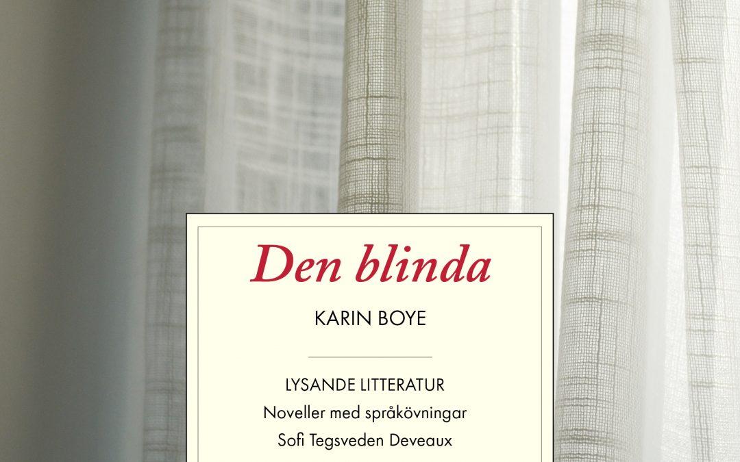 Introduktion till svensk litteratur med Karin Boye (svenska som andraspråk)