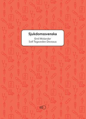 Omslaget till läroboken Sjukdomssvenska