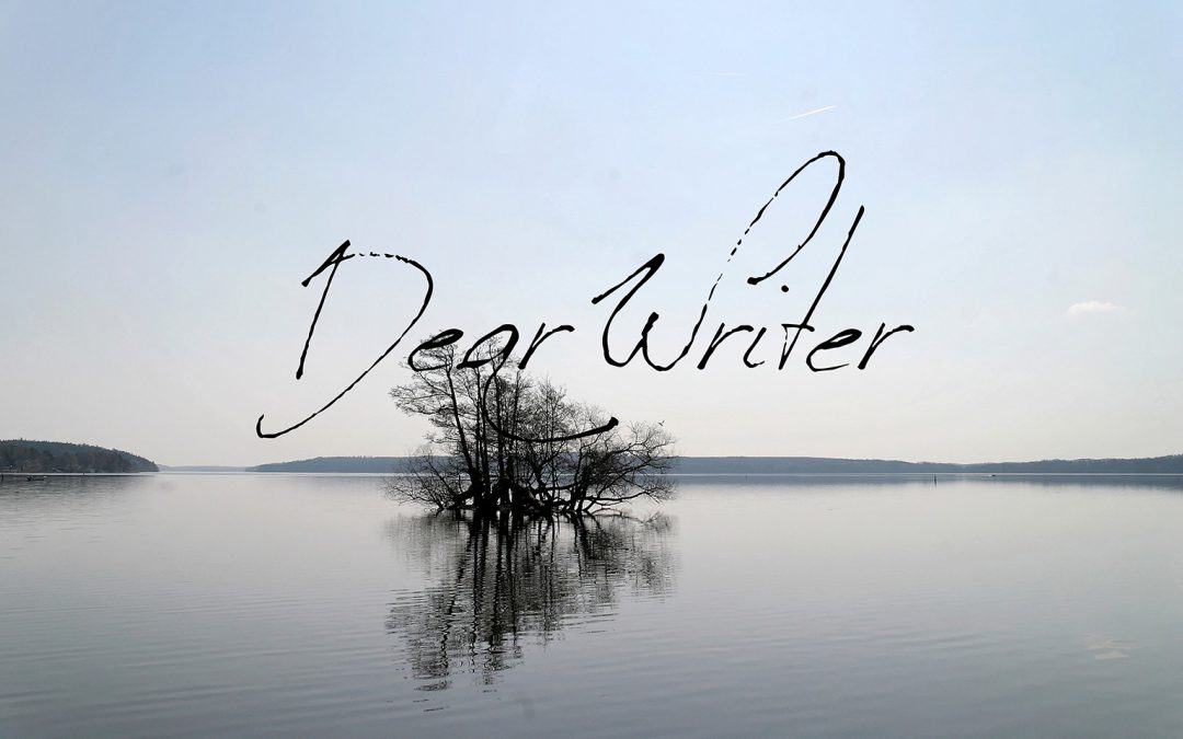 Dear Writer | Creator of a New World