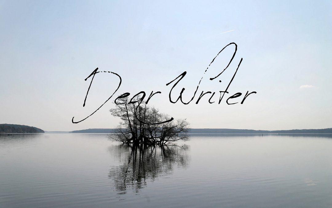 Dear Writer |Creator of a New World